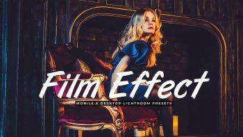پریست لایت روم – Film Effect Lightroom Presets