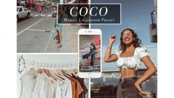 پریست لایت روم برای موبایل – Coco Mobile Lightroom Presets