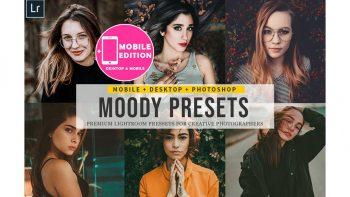 پریست لایت روم برای موبایل – Moody Lightroom Presets And Mobile