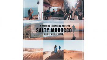 مجموعه پریست لایت روم – Salty Morocco Lightroom Presets