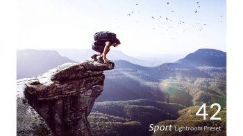 مجموعه 42 پریست لایت روم ورزشی – Sport Lightroom Presets