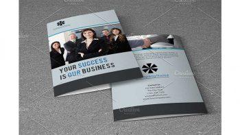 دانلود فایل لایه باز بروشور شرکتی Business Brochure V788