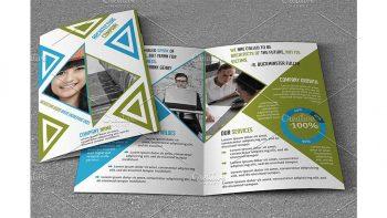دانلود فایل لایه باز بروشور تجاری Business Brochure V789