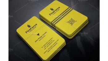 دانلود فایل لایه باز کارت ویزیت Business Card 17