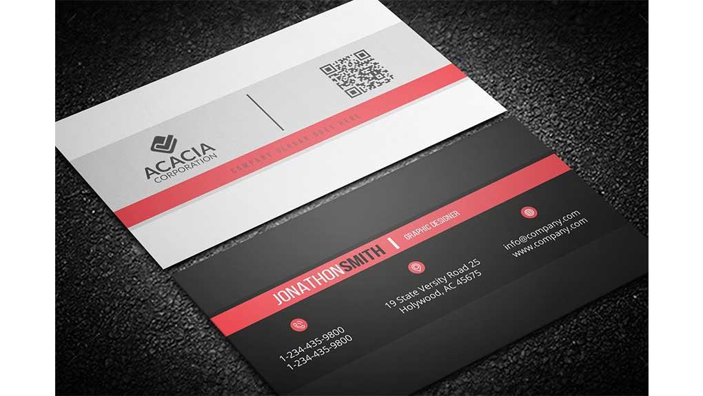 فایل لایه باز کارت ویزیت Business Card 18