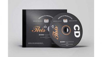 دانلود موکاپ دی وی دی CD/DVD Album Mock-up 6