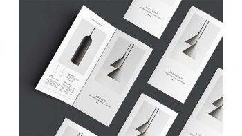 دانلود قالب ایندیزاین بروشور C E N T R E – Trifold Brochure