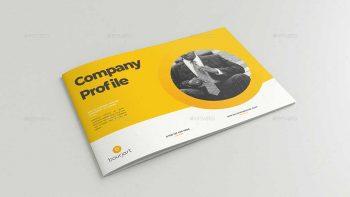دانلود قالب ایندیزاین بروشور شرکت معماری منظر Company Profile Landscape