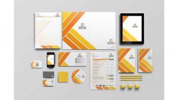 دانلود فایل لایه باز ست اداری Corporate Identity Set