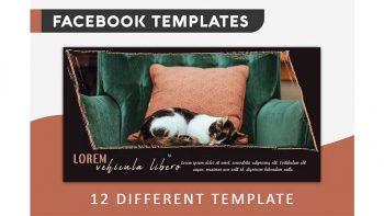 دانلود فایل لایه باز کاور فیسبوک Facebook Cover Template