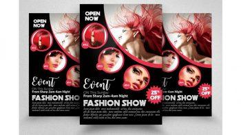 دانلود فایل لایه باز مجله مد و فشن Fashion Magazine Flyer Template