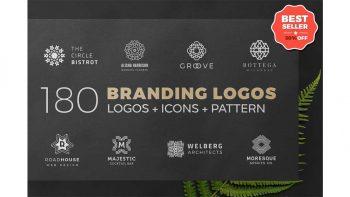 دانلود فایل لایه باز لوگو مینیمال هندسی Geometric Minimal Logo