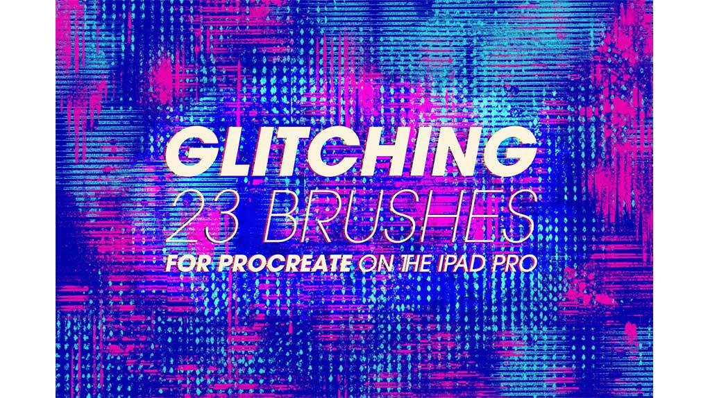 براش Glitching Brushes for Procreate