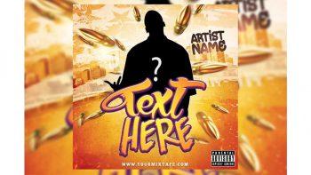 دانلود فایل لایه باز کاور سی دی Hiphop CD Cover / Flyer Template