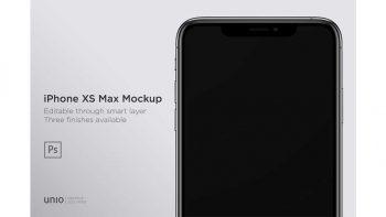 دانلود موکاپ آیفون ایکس iPhone XS Max Mockup