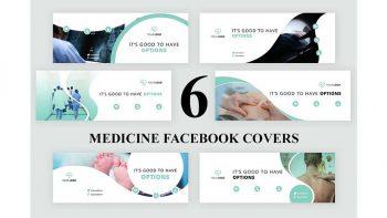 دانلود فایل لایه باز بنر فیسبوک Medicine Facebook Covers