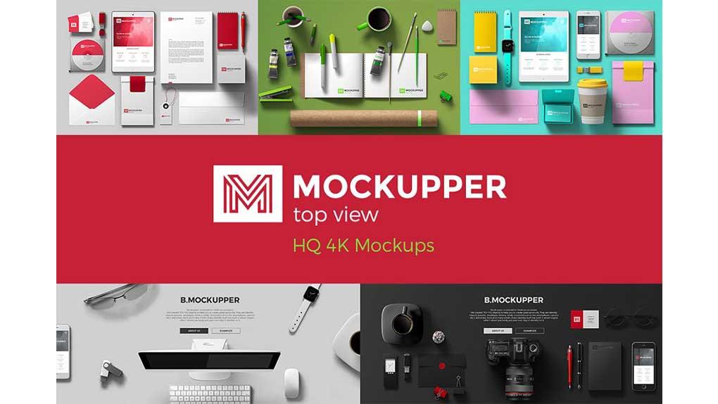 جعبه ابزار ساخت موکاپ Mockupper Scene Generator topview 4K