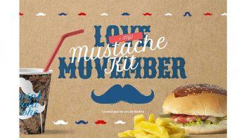 دانلود وکتور سیبیل Movember Style Mustache Kit