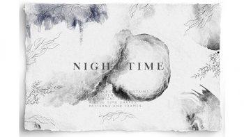 دانلود کلیپ آرت با موضوع شب Night Time Collection