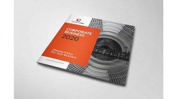 دانلود قالب ایندیزاین بروشور شرکتی Pakumantan – A Corporate Brochure