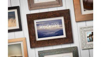 دانلود موکاپ قاب عکس Picture Frame Mockups Volume 2