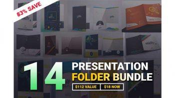 دانلود وکتور فولدر Presentation Folder Bundle