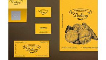 دانلود فایل لایه باز آگهی نانوایی Print Pack | Bakery