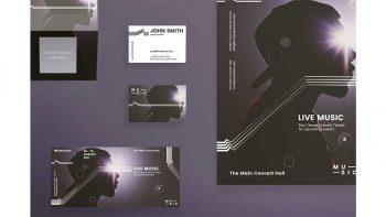 دانلود فایل لایه باز بنر کنسرت موسیقی Print Pack | Music