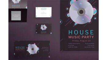 دانلود فایل لایه باز بنر کنسرت موسیقی Print Pack | Music Party