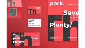 دانلود فایل لایه باز آگهی Print Pack | Theme Park