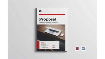 دانلود قالب آماده ایندیزاین پروپوزال Project Proposal