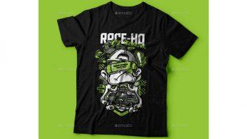 دانلود وکتور تیشرت Race-HQ T-Shirt Design