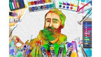 دانلود اکشن تبدیل عکس به نقاشی آبرنگی Real Watercolor Art