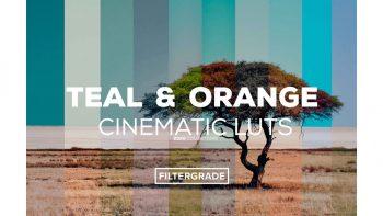 مجموعه پریست های رنگی – orange teal تم گرم و سرد