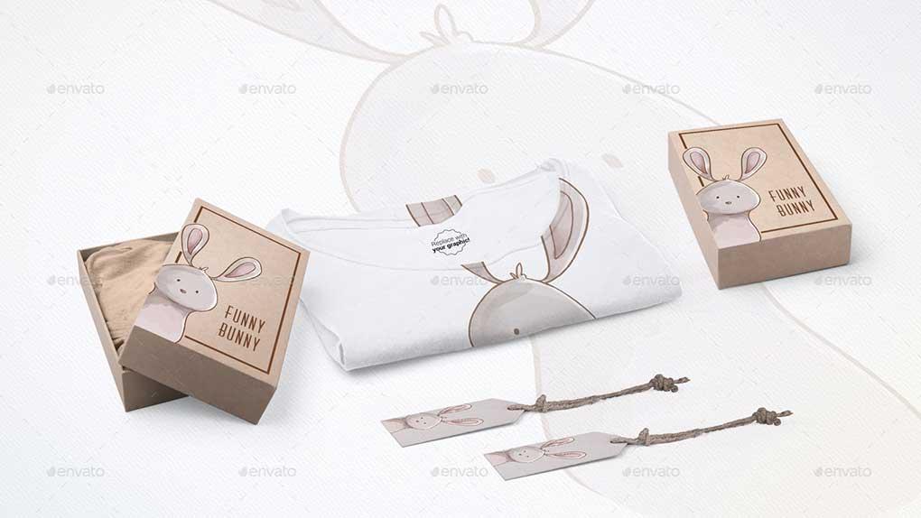 جعبه ابزار ساخت موکاپ تیشرت