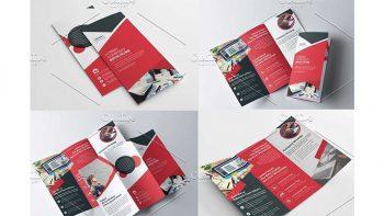 دانلود وکتور بروشور سه لت Tri Fold Multipurpose Brochure
