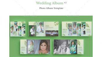 دانلود فایل لایه باز آلبوم عکس عروسی Wedding Album V.1