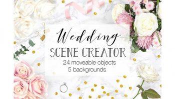 دانلود جعبه ابزار ساخت موکاپ عروسی Wedding Scene Creator – Top View