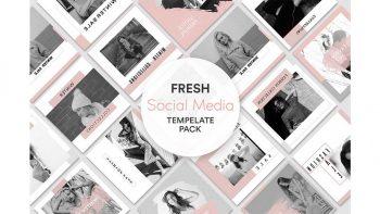 دانلود فایل لایه باز بنر حراج زمستانه اینستاگرام Winter Sale Instagram Banner Set
