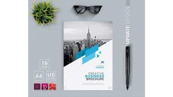 دانلود قالب ایندیزاین بروشور Brochure
