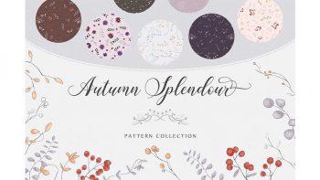 دانلود پترن پاییزی Autumn Splendour Patterns