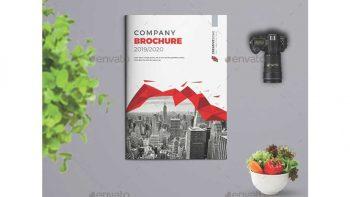 دانلود قالب ایندیزاین بروشور Bi-fold Brochure