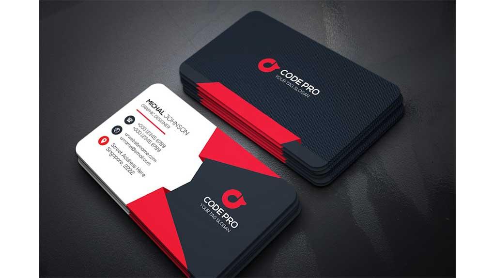فایل لایه باز کارت ویزیت Business Card 20
