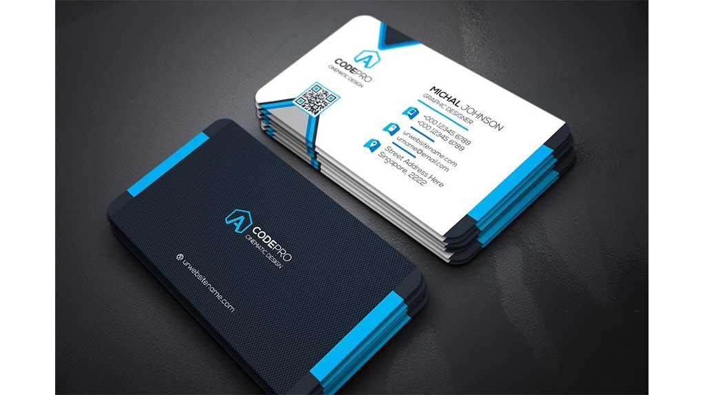 فایل لایه باز کارت ویزیت Business Card 21