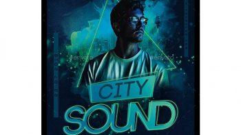 دانلود فایل لایه باز بنر City Sound Party Flyer