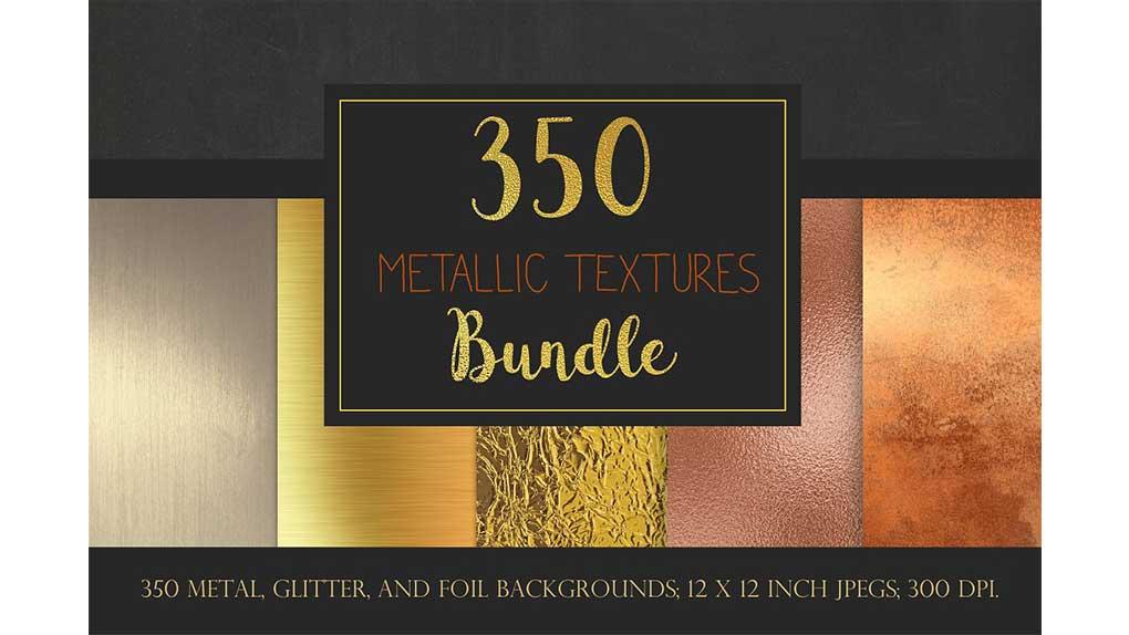 تکسچر فلز Metallic textures bundle