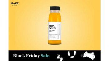 دانلود موکاپ بطری آب پرتغال Orange juice – Bottle mockup