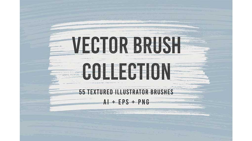 براش ایلوستریتور Vector Brushes Collection