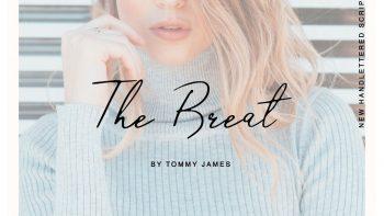 فونت انگلیسی دستنویس The Breat