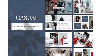 دانلود قالب کینوت Casual – Fashion Keynote Template